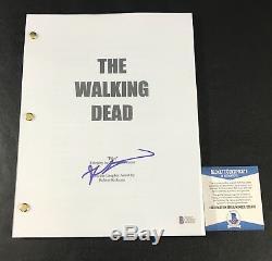 Robert Kirkman Signed Walking Dead Full Pilot Script Authentic Autograph Beckett