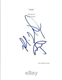Robin Lord Taylor Signed Autographed GOTHAM Full Pilot Script with Drawing COA