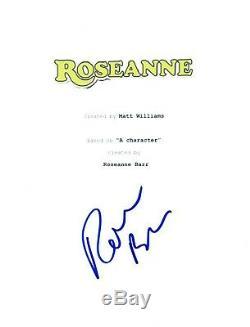 Roseanne Barr Signed Autographed ROSEANNE Full Pilot Episode Script COA