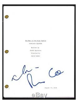 Rufus Sewell & Alexa Davalos Signed The Man In The High Castle Pilot Script COA