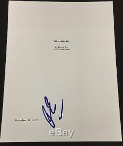Ryan Eggold Signed Autograph The Blacklist Full Pilot Script With Coa