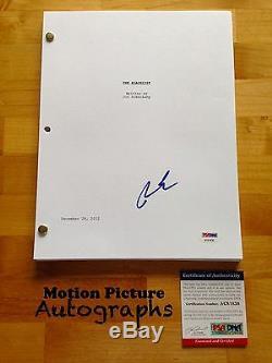 Ryan Eggold Signed The Blacklist Pilot Episode Script Full 57 Pages Psa Dna Coa