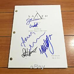 SALEM SIGNED FULL 63 PAGE PILOT SCRIPT BY CAST JANET MONTFOMERY with COA