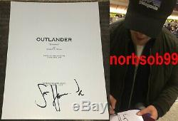 SAM HEUGHAN SIGNED AUTOGRAPH OUTLANDER 61 PAGE PILOT SCRIPT withEXACT PROOF