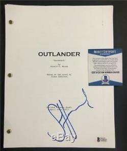 SAM HEUGHAN autograph signed OUTLANDER Pilot Episode Full Script BAS COA Beckett