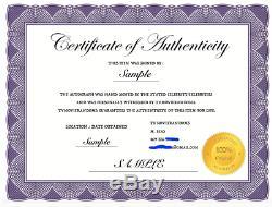SCANDAL SIGNED PILOT SCRIPT BY 8 CAST TONY GOLDWYN KERRY WASHINGTON with COA