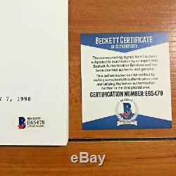 SCOTT SPEEDMAN SIGNED FELICTY FULL 56 PAGE PILOT SCRIPT with BECKETT BAS COA