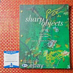 SHARP OBJECTS SIGNED PILOT SCRIPT BY PATRICIA CLARKSON SYDNEY SWEENEY with COA