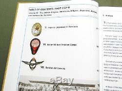 SIGNED US Army WW1 AIR SERVICE PILOT WINGS FLIGHT BADGE INSIGNIA REFERENCE BOOK
