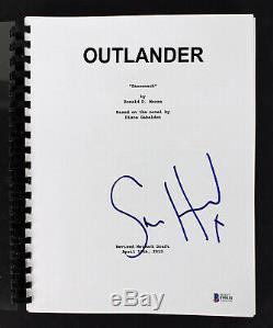 Sam Heughan Authentic Signed Outlander TV Pilot (Sassenach) Script BAS #F99151