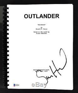 Sam Heughan Authentic Signed Outlander TV Pilot Sassenech Script BAS #H60042