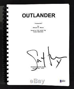 Sam Heughan Outlander Authentic Signed TV Pilot (Sassenach) Script BAS #H60045