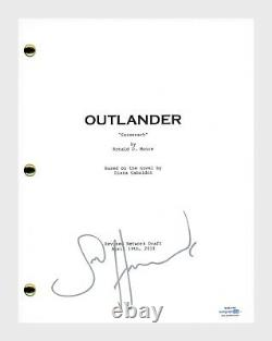 Sam Heughan Signed Autograph OUTLANDER Pilot Episode Script Screenplay ACOA COA