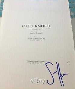 Sam Heughan Signed Autograph Rare Outlander Full Pilot Episode Show Script Coa