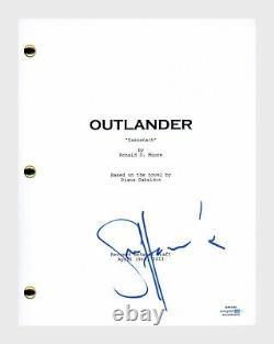 Sam Heughan Signed Autographed OUTLANDER Pilot Episode Script ACOA COA