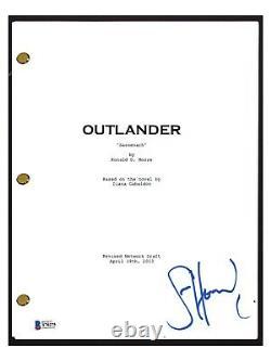 Sam Heughan Signed Autographed OUTLANDER Pilot Episode Script Beckett BAS COA
