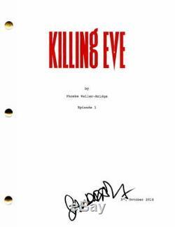 Sandra Oh Signed Autograph Killing Eve Pilot Script Grey's Anatomy Jodie Comer