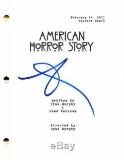 Sarah Paulson Signed Autograph American Horror Story Full Pilot Script