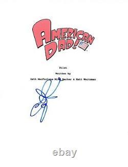 Scott Grimes Signed Autographed AMERICAN DAD Pilot Episode Script COA