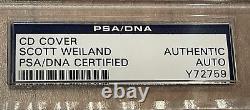 Scott Weiland STONE TEMPLE PILOTS STP Signed CORE CD Book Auto PSA/DNA Authentic