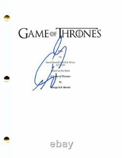 Sean Bean Signed Autograph Game Of Thrones Full Pilot Script Ned Stark, Rare