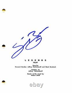 Sean Bean Signed Autograph Legends Full Pilot Script Ned Stark Game Of Thrones