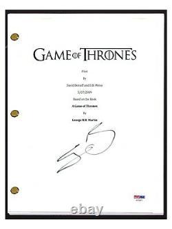Sean Bean Signed Autographed GAME OF THRONES Pilot Episode Script PSA/DNA COA