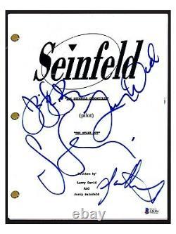 Seinfeld Cast Signed Pilot Script x4 Jerry Larry David Julia Jason Beckett COA