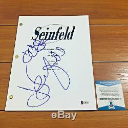 Seinfeld Signed Pilot Script By Jerry Seinfeld Julia Louis-dreyfus Beckett Coa