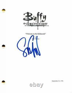Seth Green Signed Autograph Buffy The Vampire Slayer Full Pilot Script Oz