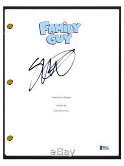 Seth MacFarlane Signed Autographed FAMILY GUY Pilot Episode Script Beckett COA