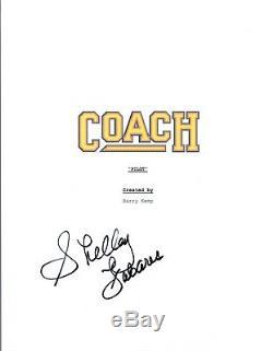 Shelley Fabares Signed Autographed COACH Pilot Episode Script COA VD