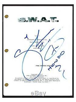 Shemar Moore Signed Autographed SWAT S. W. A. T. Pilot Episode Script COA