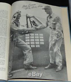 Signed 15 Hellcat Fighter Pilots CARRIER WAR Book By Oliver Jensen Hardcover