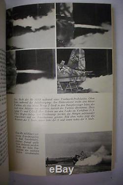Signed Luftwaffe WWII ME-163 Rocket Fighter Jet Pilot MANO ZIEGLER Photo & Book