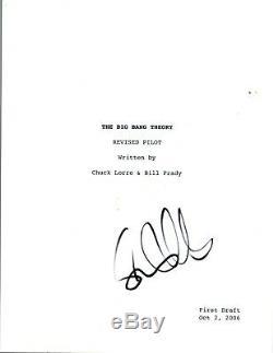 Simon Helberg Signed Autographed THE BIG BANG THEORY Pilot Episode Script COA VD