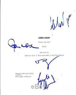 Sleepy Hollow Cast Signed Autograph Full Pilot Episode Script 63 Pages Coa