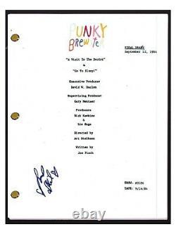Soleil Moon Frye Signed Autographed PUNKY BREWSTER Pilot Script Screenplay COA