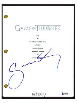 Sophie Turner Signed Autograph GAME OF THRONES Pilot Episode Script Beckett COA