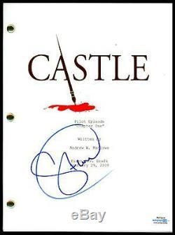 Stana Katic Castle AUTOGRAPH Signed Full Pilot Episode TV Script ACOA