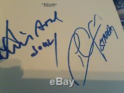 Starsky & Hutch David Soul And Paul Glaser Autographed Pilot Script CA COA