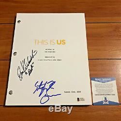Sterling K Brown & Susan Watson Signed This Is Us Pilot Script Beckett Bas Coa