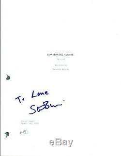 Steve Buscemi Signed Autographed BOARDWALK EMPIRE Pilot Episode Script COA VD