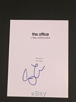 Steve Carell Signed The Office E-mail Surveillance Full Pilot Script Rare