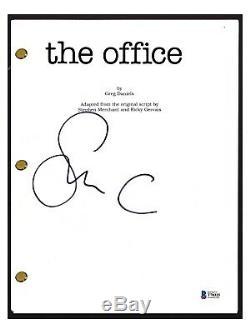 Steve Carrell Signed Autographed THE OFFICE Pilot Script Beckett BAS COA