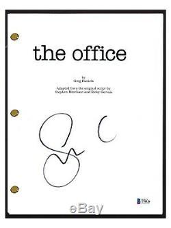 Steve Carrell Signed Autographed THE OFFICE Pilot Script Michael Scott BAS COA