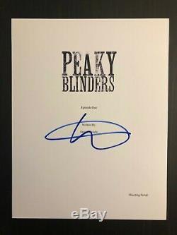 Steven Knight Signed Autograph Peaky Blinders Full Pilot Script Cillian Murphy