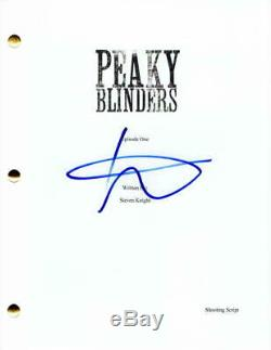 Steven Knight Signed Autograph Peaky Blinders Pilot Script Cillian Murphy