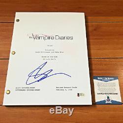 Steven R. Mcqueen Signed The Vampire Diaries 63 Page Pilot Script Beckett Coa