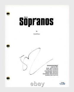 Steven Van Zandt Signed Autographed The Sopranos Pilot Episode Script ACOA COA